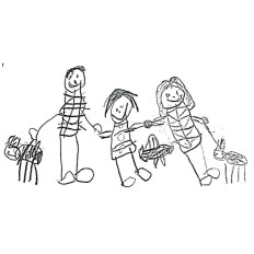 Elegant-cuff-family-drawing